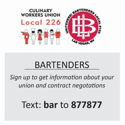 Bartenders Union Local 165