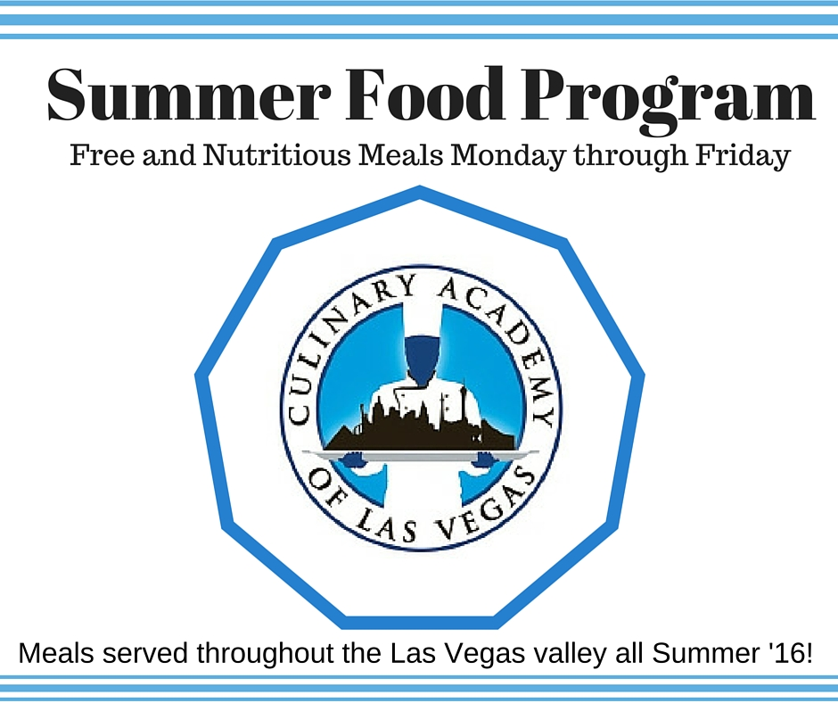 Free Summer Meals for Kids in Las Vegas!